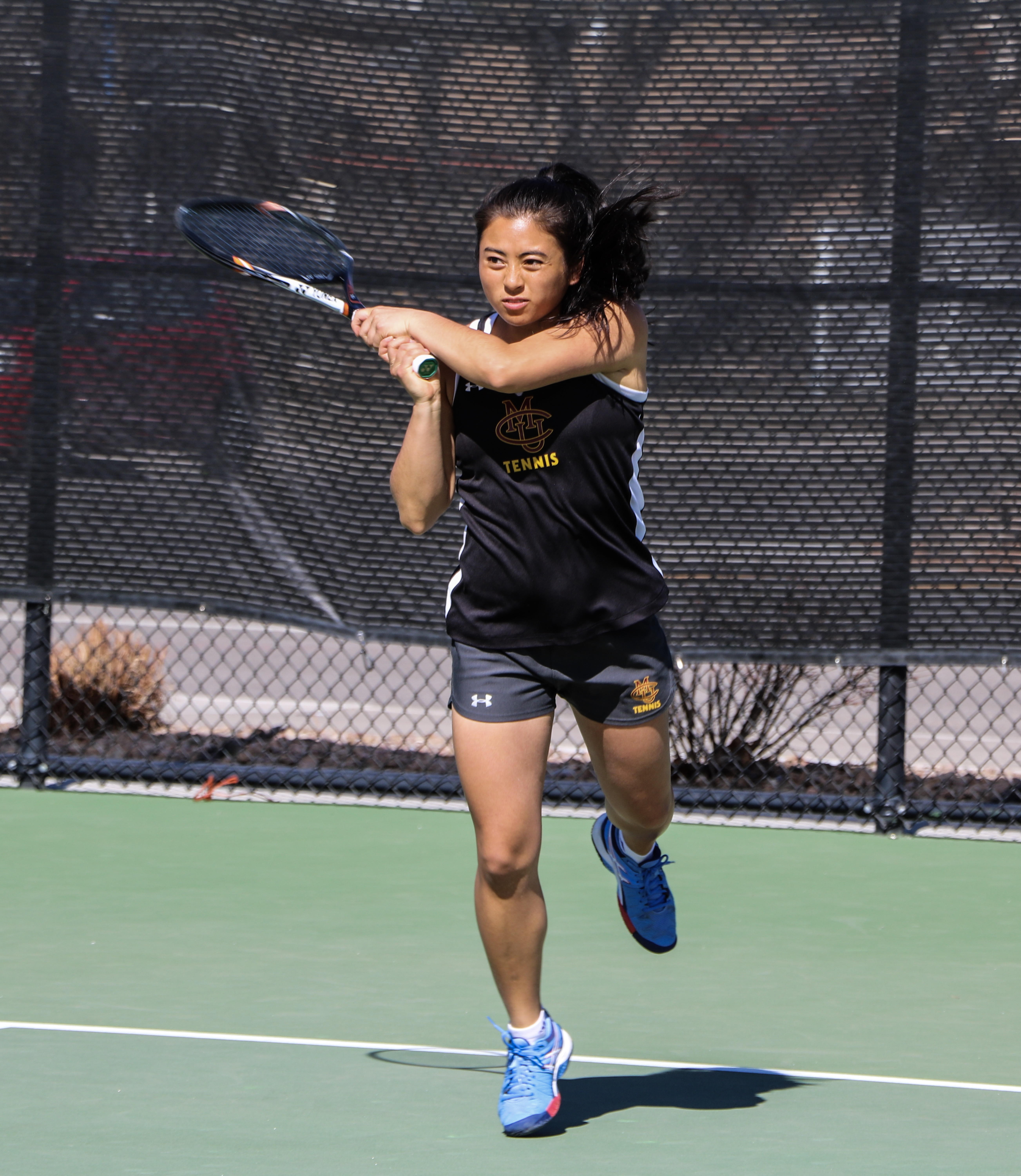 Men's And Women's Tennis Serve Cougars And Thunderwolves