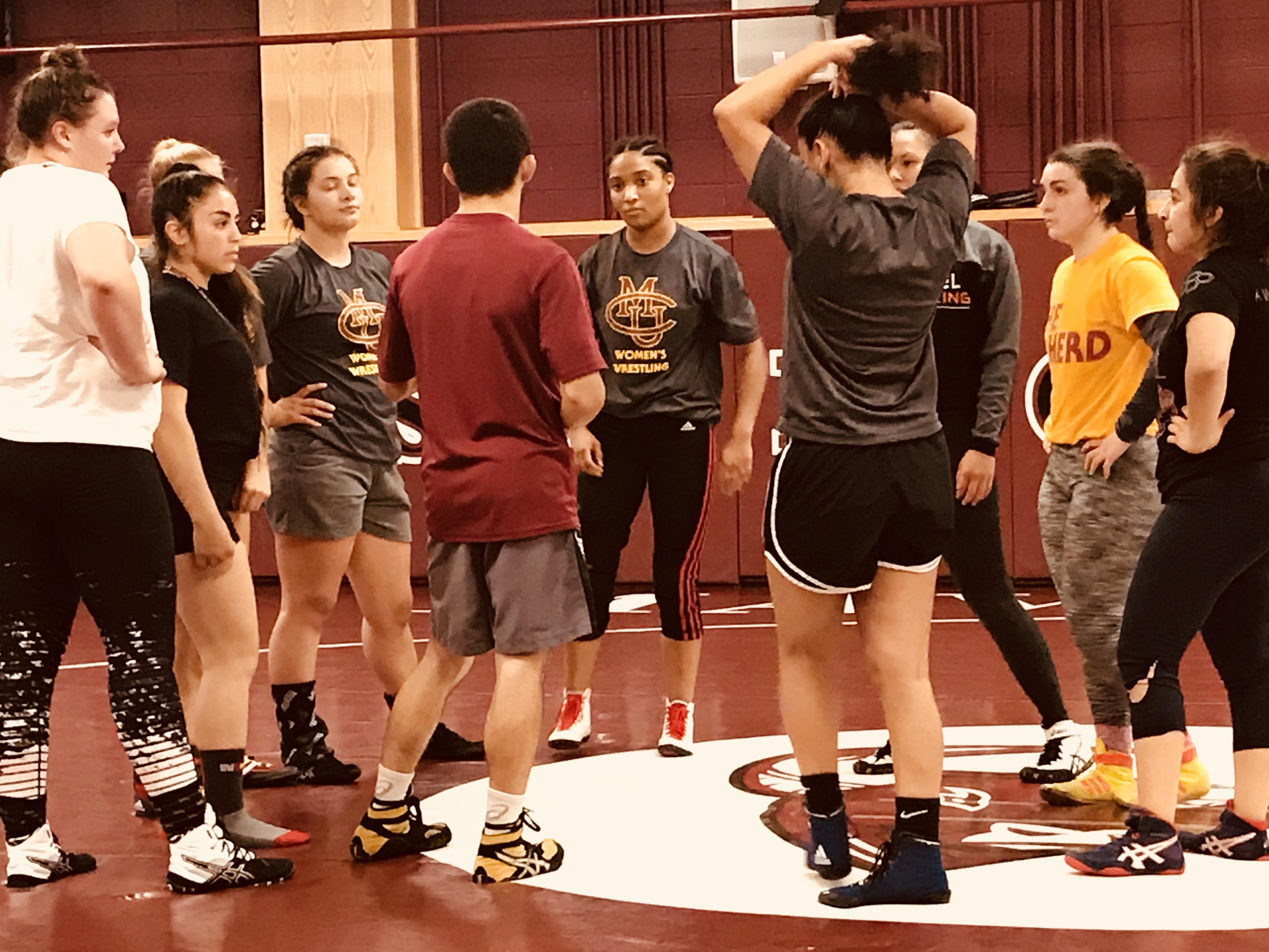 Meet the women wrestlers