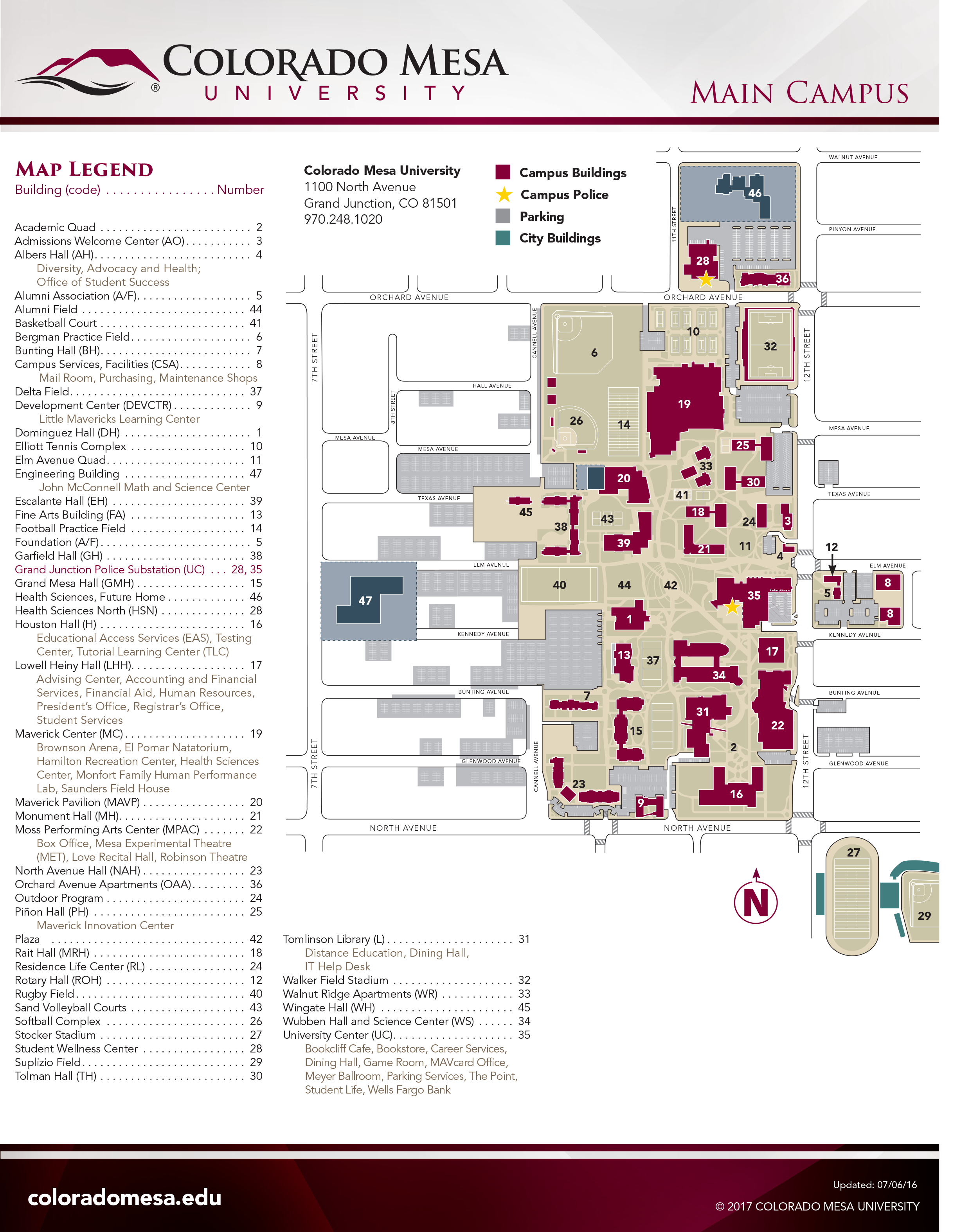 campusmap 1 | The Criterion